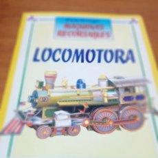 Coleccionismo Recortables: CONSTRUYE MÁQUINAS RECORTABLES. LOCOMOTORA. EST22B1. Lote 163504662