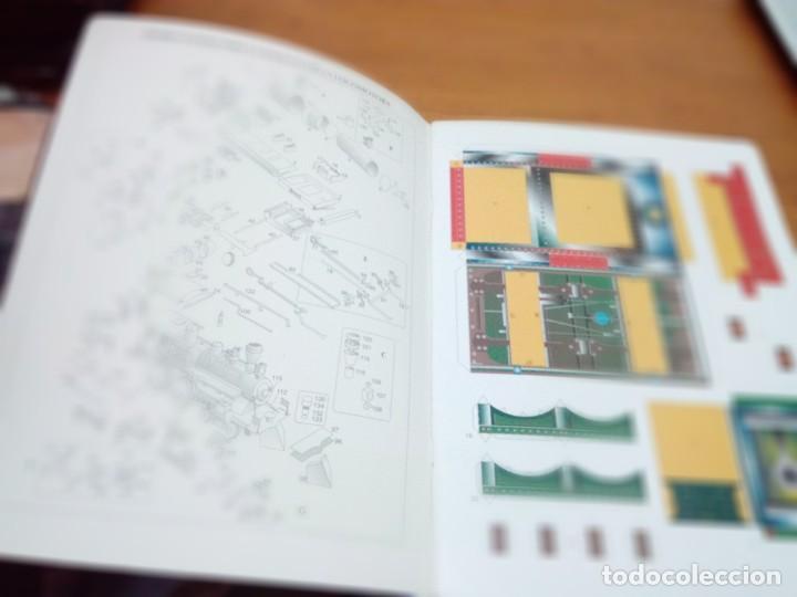 Coleccionismo Recortables: CONSTRUYE MÁQUINAS RECORTABLES. LOCOMOTORA. EST22B1 - Foto 2 - 163504662