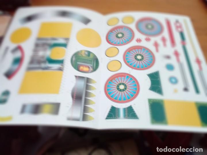 Coleccionismo Recortables: CONSTRUYE MÁQUINAS RECORTABLES. LOCOMOTORA. EST22B1 - Foto 5 - 163504662