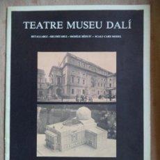 Coleccionismo Recortables: TEATRE MUSEU DALI EDITA LIBROS DE LA GORGONA 14 PAGINAS 35X25. Lote 164102030