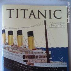 Coleccionismo Recortables: TROQUELADO TITANIC PERMITE HACER UNA MAQUETA DE 135 CM DE LARGO. Lote 164806234