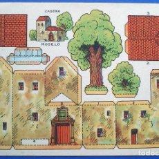 Coleccionismo Recortables: RECORTABLE - CASONA MODELO - PERFECTO ESTADO. Lote 165784650