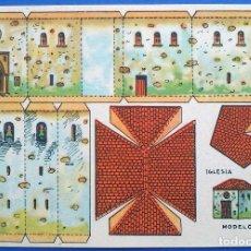 Colecionismo Recortáveis: RECORTABLE - IGLESIA - PERFECTO ESTADO. Lote 165786686