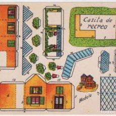 Colecionismo Recortáveis: RECORTABLE - CASITA DE RECREO - ANARANT - PERFECTO ESTADO. Lote 165789470