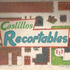 Coleccionismo Recortables: RECORTABLE, 10 HOJAS CASTILLOS RECORTABLES DIFERENTES - CYP 1971 - COLECCIÓN COMPLETA, 30X22,5 CM.. Lote 202079210