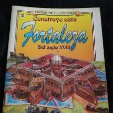 Coleccionismo Recortables: MAQUETA RECORTABLE FORTALEZA SIGLO XVIII. Lote 169118088