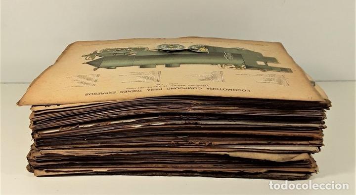 Coleccionismo Recortables: 126 LÁMINAS. REVISTA EL MUNDO CIENTÍFICO. VARIOS AUTORES. SIGLO XX. - Foto 5 - 169984728