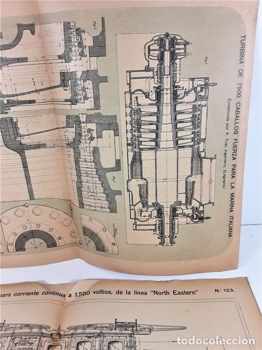 Coleccionismo Recortables: 126 LÁMINAS. REVISTA EL MUNDO CIENTÍFICO. VARIOS AUTORES. SIGLO XX. - Foto 7 - 169984728
