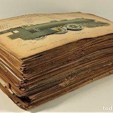 Coleccionismo Recortables: 126 LÁMINAS. REVISTA EL MUNDO CIENTÍFICO. VARIOS AUTORES. SIGLO XX.. Lote 169984728