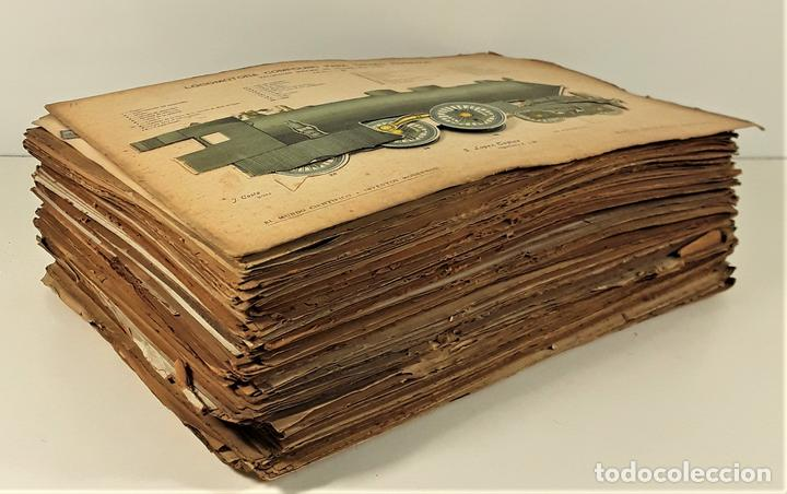 Coleccionismo Recortables: 126 LÁMINAS. REVISTA EL MUNDO CIENTÍFICO. VARIOS AUTORES. SIGLO XX. - Foto 2 - 169984728