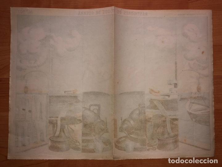 Coleccionismo Recortables: DECORACIONES DE TEATRO BASTIDORES DE BUQUE DE GUERRA N 507 PALUZIE - Foto 2 - 214653267