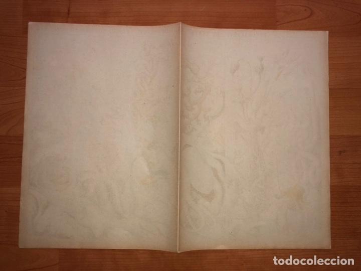 Coleccionismo Recortables: DECORACIONES DE TEATRO BASTIDORES DEL FONDO SUBMARINO N 514 PALUZIE - Foto 2 - 195114053