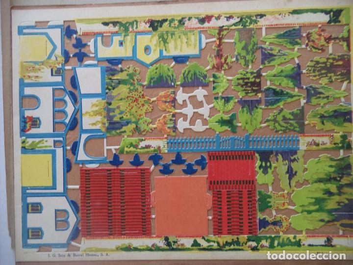 CONSTRUCTOR SEIX&BARRAL SERIE 2ª Nº 8 CHALET CON JARDIN (Coleccionismo - Recortables - Construcciones)