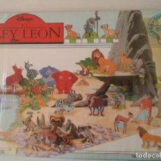 Coleccionismo Recortables: RECORTABLE DISNEY EL REY LEON 8 HOJAS DE 39X28 CM. Lote 172167989