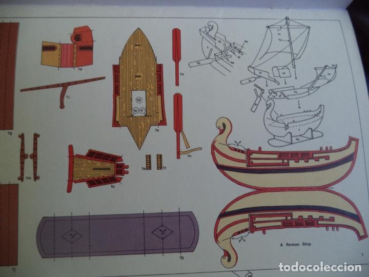 Coleccionismo Recortables: RECORTABLE MICROMODELS SIX LITTLE SHIP/// 6 BONITAS MINIATURAS DE BARCOS - Foto 4 - 172468067