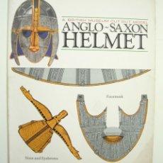 Coleccionismo Recortables: RECORTABLE - ANGLO-SAXON HELMET (BRITISH MUSEUM CUT-OUT MODEL) POR MUSEUM PUBLICATION BRITISH 1986. Lote 173070337