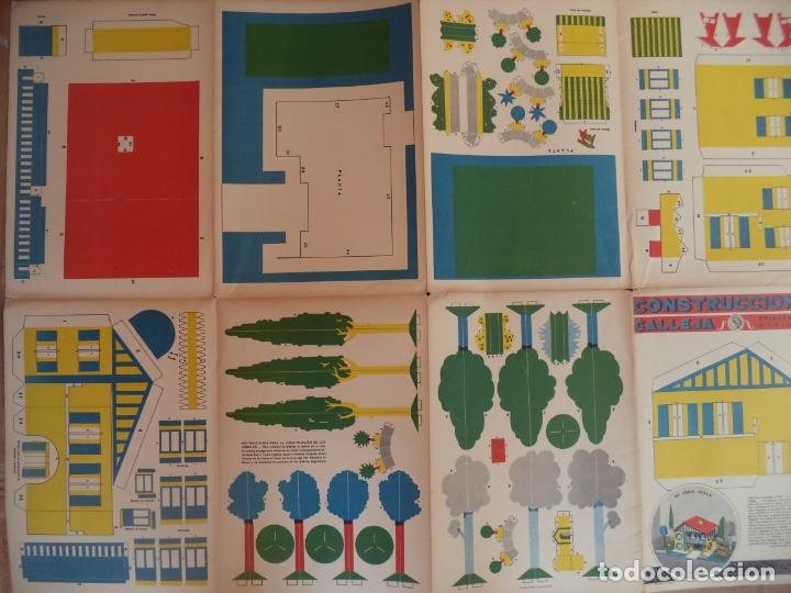 Coleccionismo Recortables: CONSTRUCCIONES CALLEJA MI CORTIJO ANDALUZ DIMENSIONES 52X148 SEGUNDA SERIE 2 - Foto 2 - 174570784