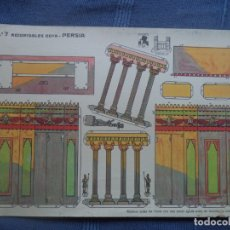 Coleccionismo Recortables: RECORTABLES GOYA Nº7 PERSIA 33X23 CM. Lote 176644568