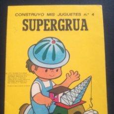 Coleccionismo Recortables: CONSTRUYO MIS JUGUETES.. Lote 177711368