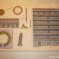 Coleccionismo Recortables: RECORTABLE SERIE MUNDIAL *TORRE DE PISA*, VIRGILI LUIS ESTEBAN, CON-BEL,1990. Lote 177837265