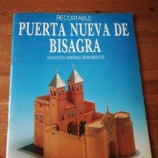 Coleccionismo Recortables: RECORTABLE PUERTA NUEVA DE BISAGRA. . Lote 178022257