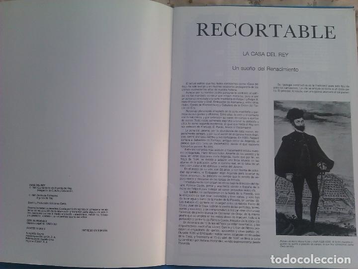 Coleccionismo Recortables: Recortable CASA DEL REY (maqueta, 1991) Original. Coleccionista. - Foto 3 - 179242355