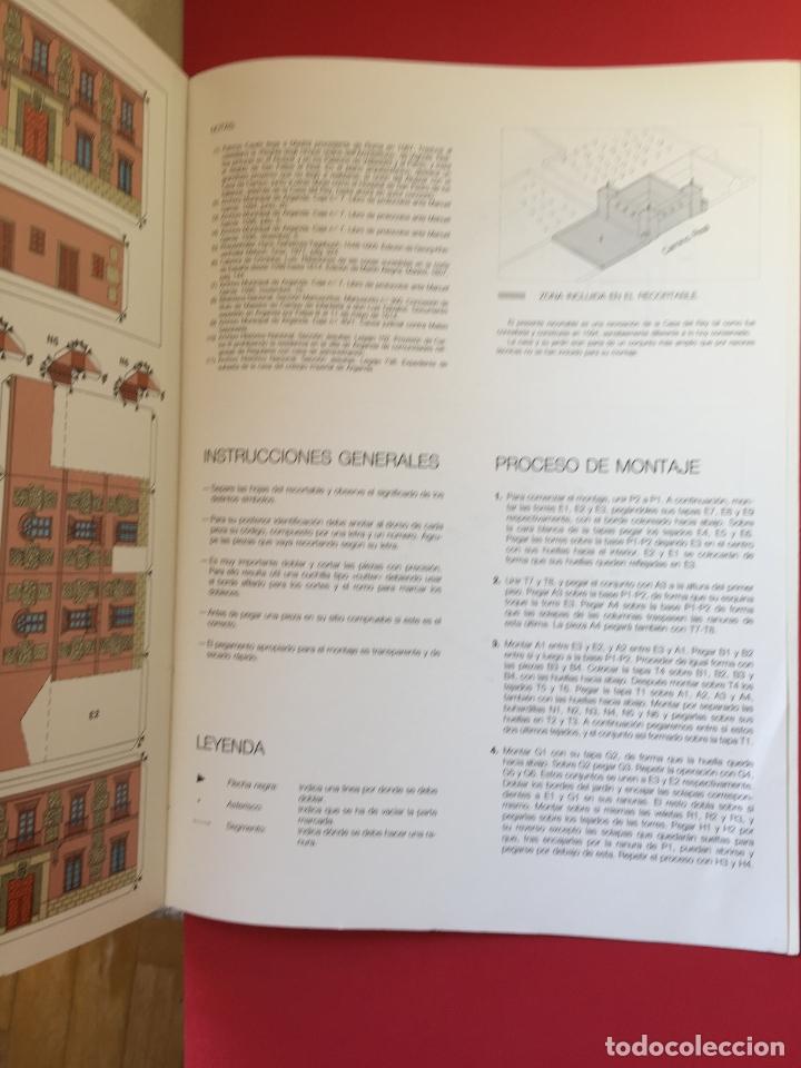 Coleccionismo Recortables: Recortable CASA DEL REY (maqueta, 1991) Original. Coleccionista. - Foto 5 - 179242355