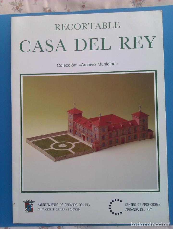 Coleccionismo Recortables: Recortable CASA DEL REY (maqueta, 1991) Original. Coleccionista. - Foto 6 - 179242355