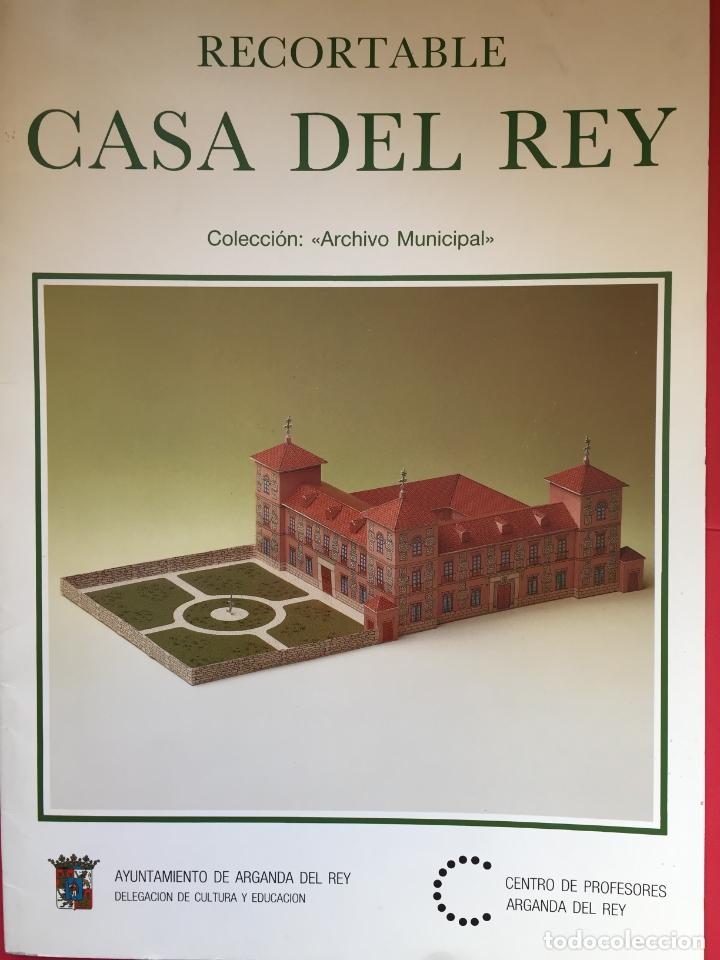 RECORTABLE CASA DEL REY (MAQUETA, 1991) ORIGINAL. COLECCIONISTA. (Coleccionismo - Recortables - Construcciones)
