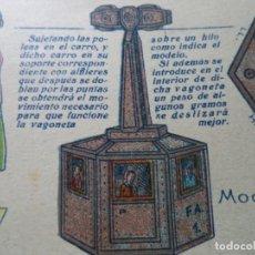 Coleccionismo Recortables: RECORTABLES BABY VAGONETA AEREA SERIE C Nº 39 33X23 CM. Lote 180464586
