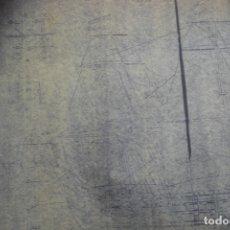 Coleccionismo Recortables: ANTIGUO PLANO DESPIECE DE LA MAQUETA DEL BARCO SAN FELIPE 1690. Lote 182539167