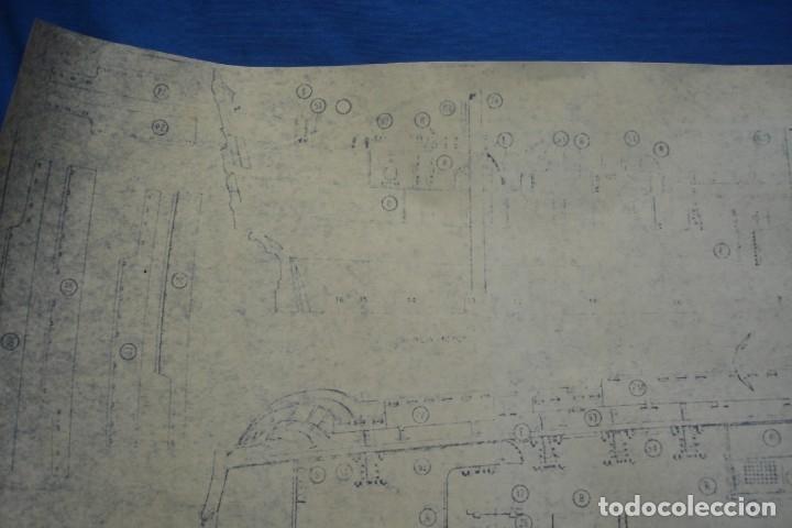 Coleccionismo Recortables: ANTIGUO PLANO DESPIECE DE LA MAQUETA DEL BARCO SAN FELIPE 1690 - Foto 2 - 182591278