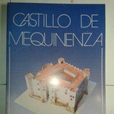 Coleccionismo Recortables: CASTILLO DE MEQUINENZA MONUMENTOS RECORTABLES SALVATELLA . Lote 182746911