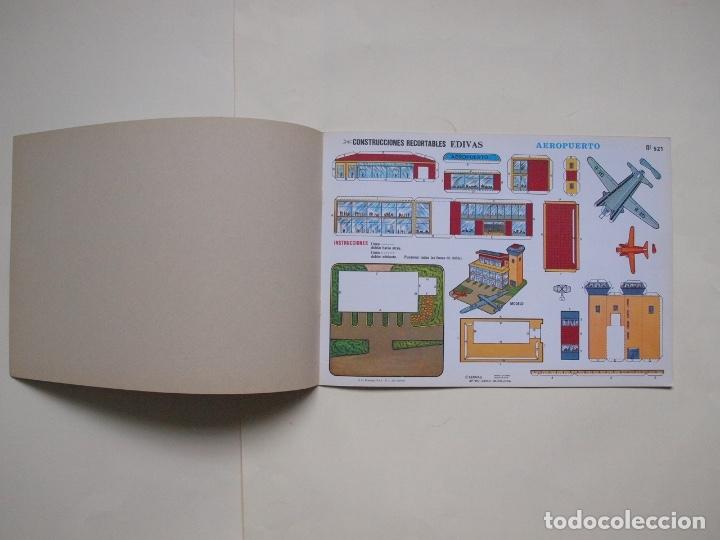 Coleccionismo Recortables: CONSTRUCCIONES RECORTABLES EDIVAS - CASAS - 8 LÁMINAS - BE - Foto 2 - 182826682