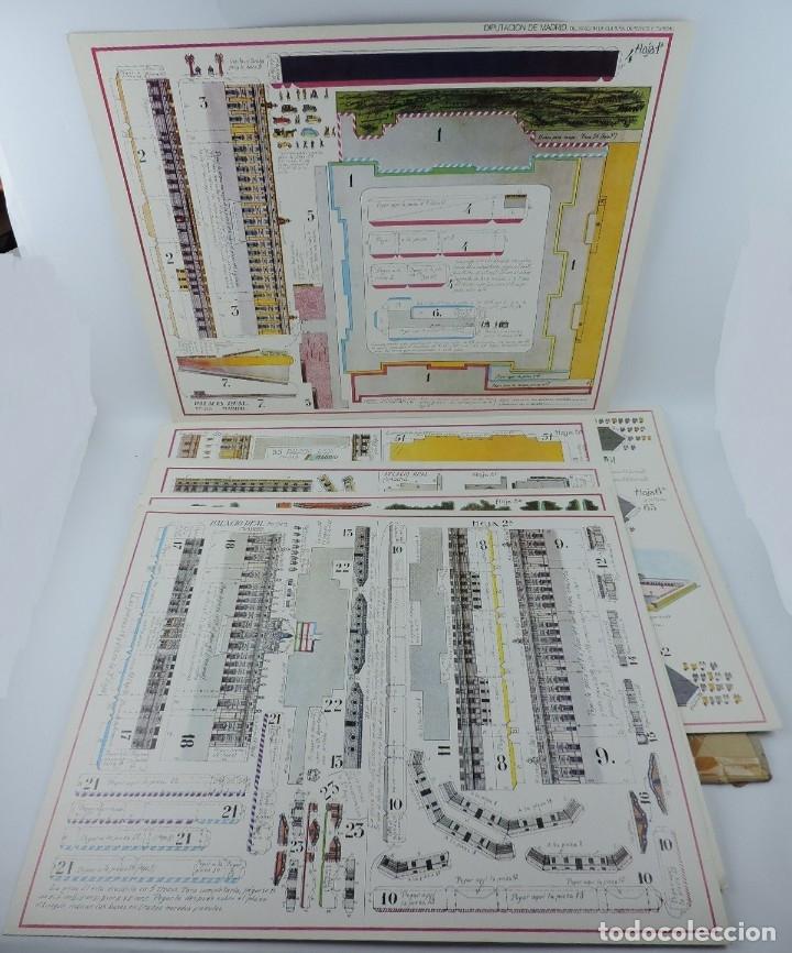 RECORTABLE DEL PALACIO REAL DE MADRID, ED. FASCIMIL DEL MODELO EDITADO POR EDITORIAL HERNANDO EN LOS (Coleccionismo - Recortables - Construcciones)