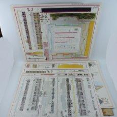 Coleccionismo Recortables: RECORTABLE DEL PALACIO REAL DE MADRID, ED. FASCIMIL DEL MODELO EDITADO POR EDITORIAL HERNANDO EN LOS. Lote 182838905