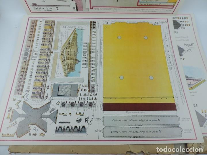 Coleccionismo Recortables: RECORTABLE DEL PALACIO REAL DE MADRID, ED. FASCIMIL DEL MODELO EDITADO POR EDITORIAL HERNANDO EN LOS - Foto 5 - 182838905