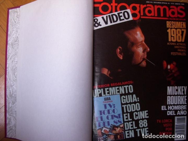 Coleccionismo Recortables: Completa colección de la revista Fotogramas - Foto 5 - 183089876