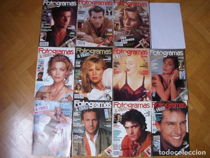 Coleccionismo Recortables: Completa colección de la revista Fotogramas - Foto 6 - 183089876