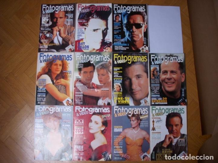 Coleccionismo Recortables: Completa colección de la revista Fotogramas - Foto 8 - 183089876