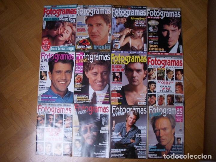 Coleccionismo Recortables: Completa colección de la revista Fotogramas - Foto 10 - 183089876