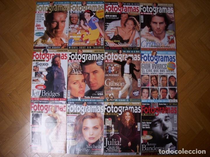 Coleccionismo Recortables: Completa colección de la revista Fotogramas - Foto 11 - 183089876