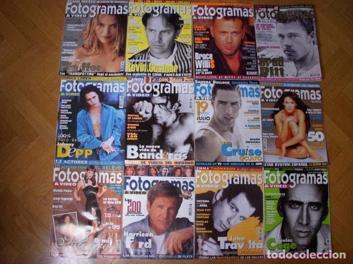 Coleccionismo Recortables: Completa colección de la revista Fotogramas - Foto 13 - 183089876