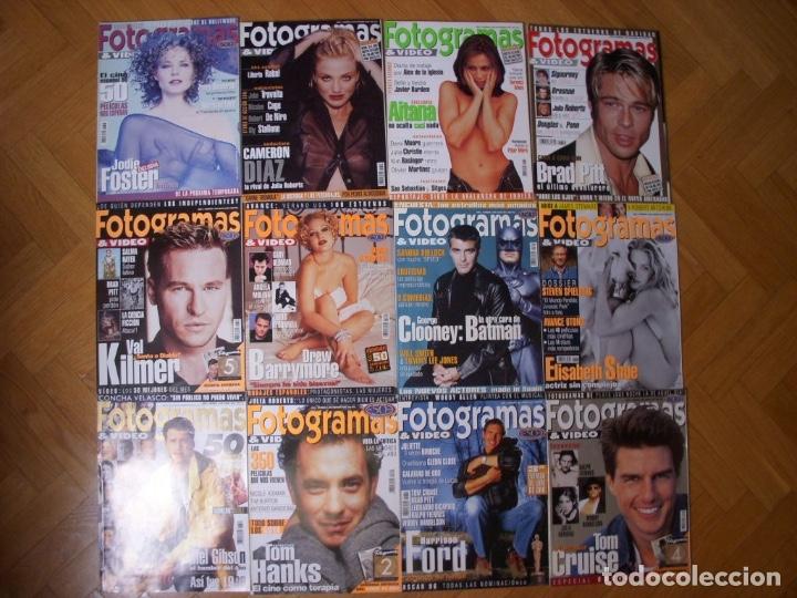 Coleccionismo Recortables: Completa colección de la revista Fotogramas - Foto 14 - 183089876