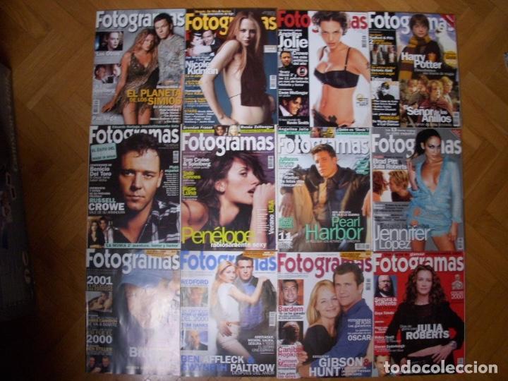 Coleccionismo Recortables: Completa colección de la revista Fotogramas - Foto 18 - 183089876