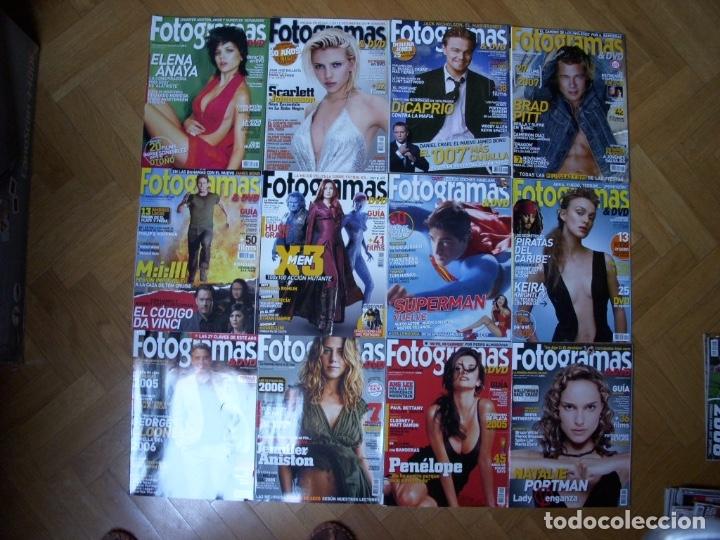 Coleccionismo Recortables: Completa colección de la revista Fotogramas - Foto 23 - 183089876