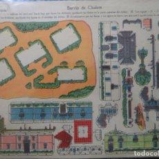 Coleccionismo Recortables: RECORTABLE LA TIJERA SERIE 10 Nº 135 BARRIO DE CHALETS. Lote 184617356