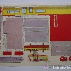 Coleccionismo Recortables: RECORTABLE ESTAMPAS DE ESPAÑA. ESTACION DE SERVICIO. . Lote 185928648
