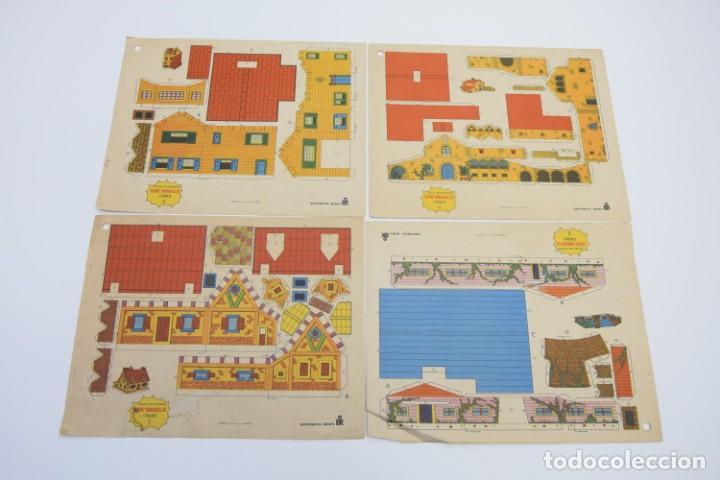 Coleccionismo Recortables: LOTE DE RECORTABLES EDIVAS, ROMA, BOGA, TORAY, RECORTABLES CASAS EDIFICIOS, RECORTABLE - VER FOTOS - Foto 3 - 187440612