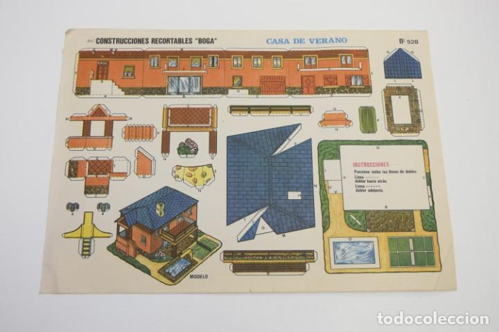 Coleccionismo Recortables: LOTE DE RECORTABLES EDIVAS, ROMA, BOGA, TORAY, RECORTABLES CASAS EDIFICIOS, RECORTABLE - VER FOTOS - Foto 12 - 187440612